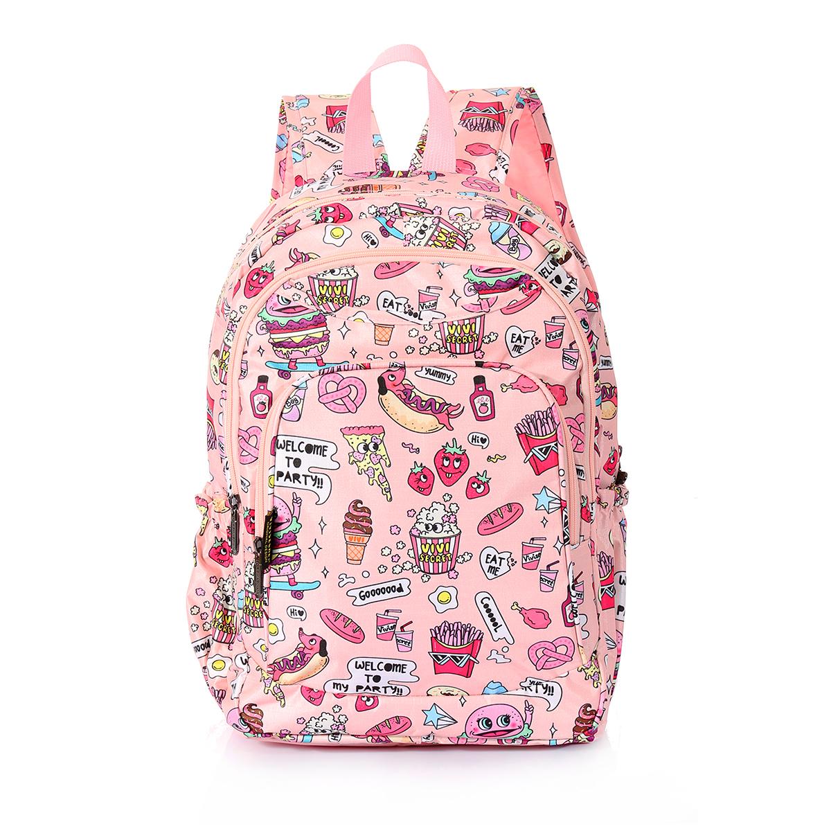 Dívčí školní batoh TopBags ViVi - Růžový 14 l - Top Batohy.cz 07a928783e